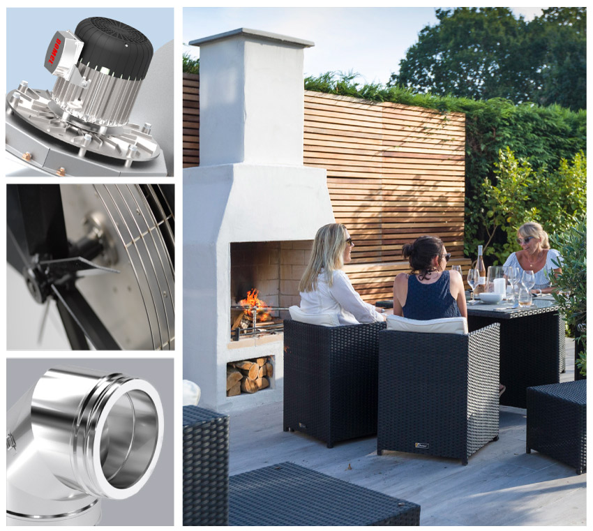 Domestic Flues, fans and chimney suppliers image