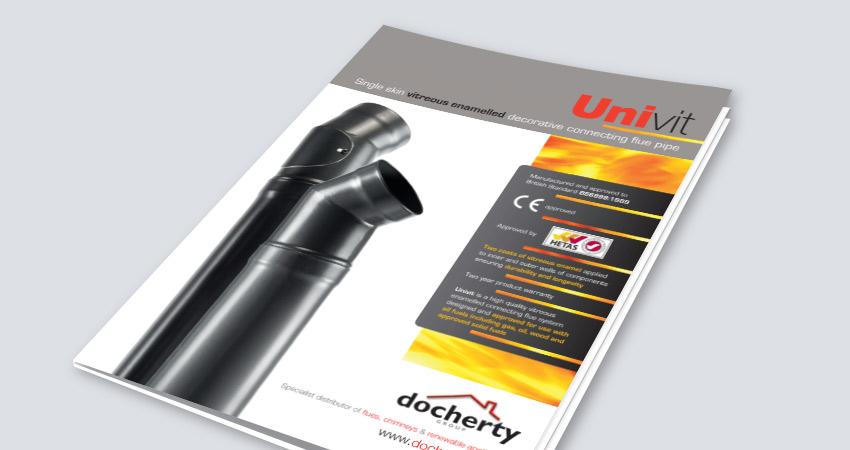 Download UniVit Connecting Flue Pipe